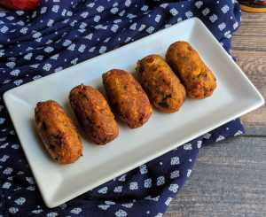 Corn Cutlet Recipe Step By Step Instructions