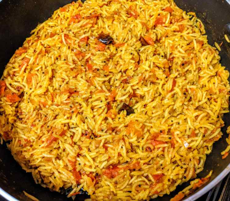 Tomato Rice Recipe Step By Step Instructions 10