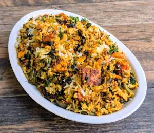 Veg Kerala Biryani Recipe Step By Step Instructions