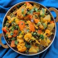 Annakoot Ki Sabzi Recipe | Mixed Veg for Govardhan Puja