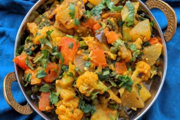 Annakoot Ki Sabzi Recipe Step By Step Instructions