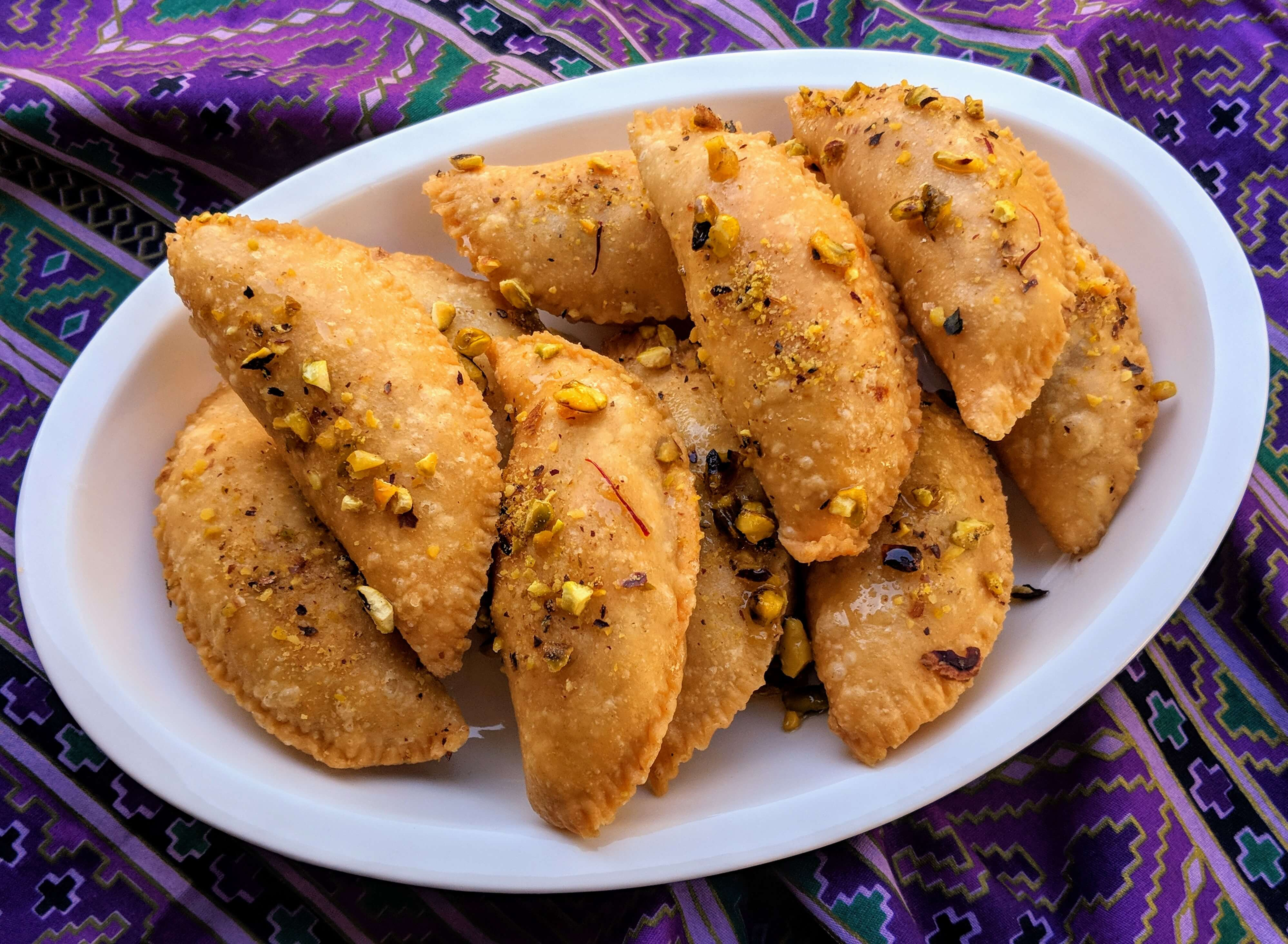 Gujiya Recipe Step By Step Instructions