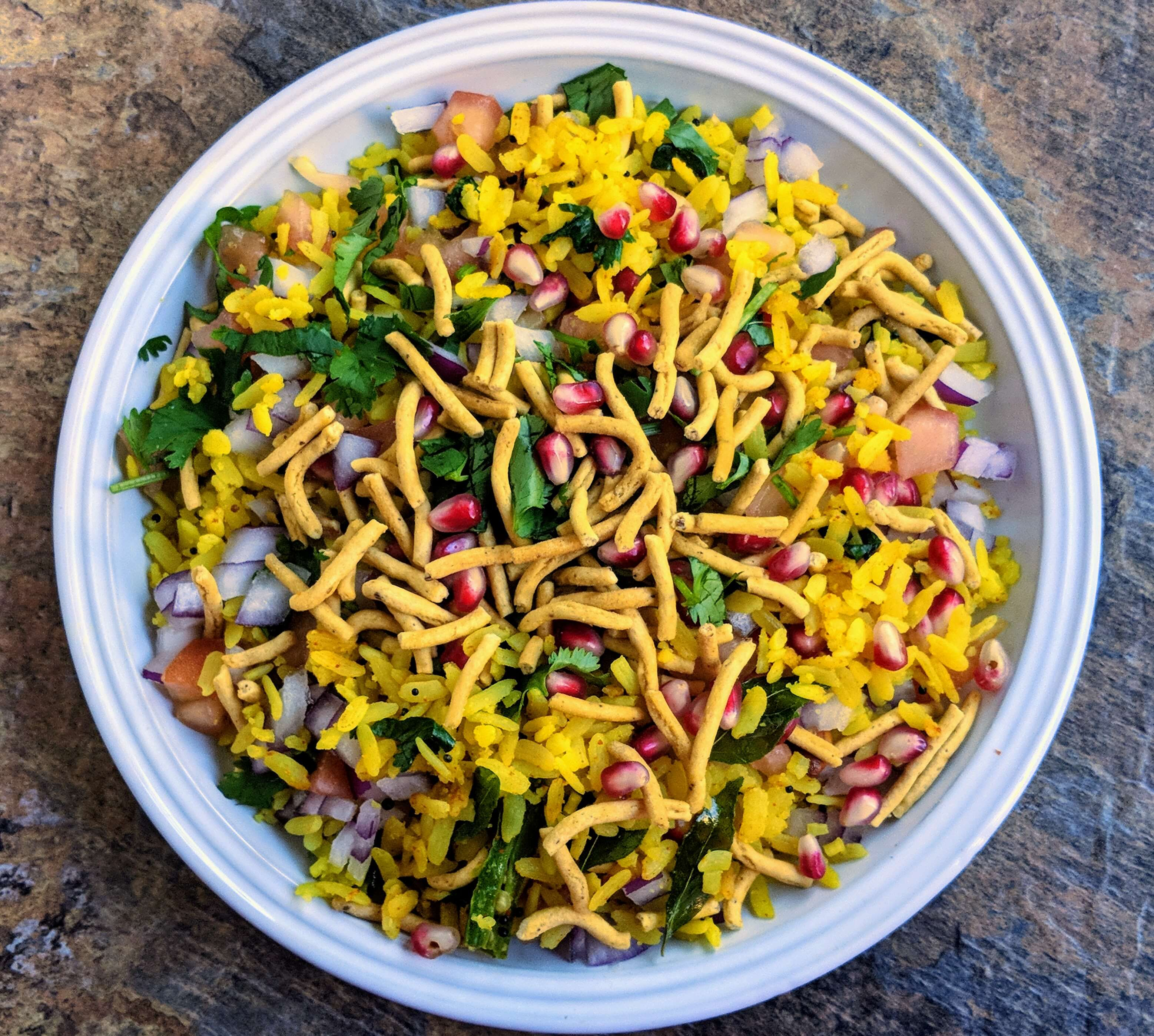 Indori Poha Recipe Step By Step Instructions