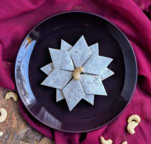 Kaju Katli Recipe Step By Step Instructions
