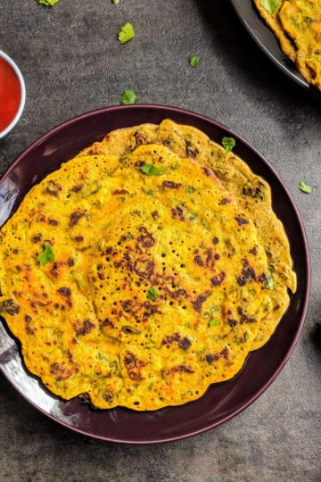 Methi Cheela Recipe Step By Step Instructions