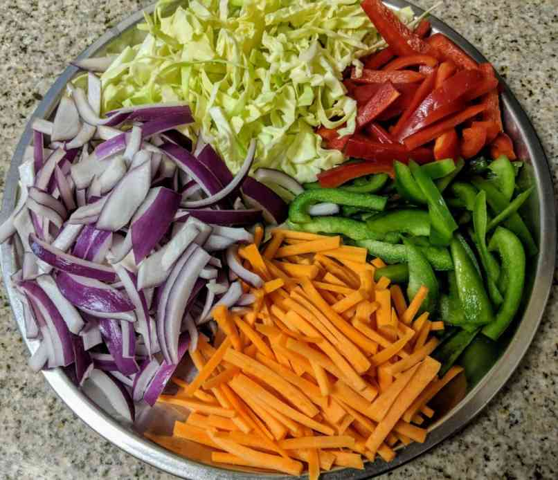 Vegetarian Chowmein Recipe Step By Step Instructions 2