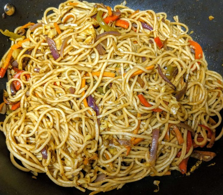 Vegetarian Chowmein Recipe Step By Step Instructions 9