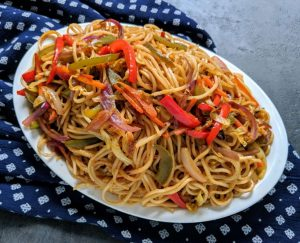 Vegetarian Chowmein Recipe Step By Step Instructions