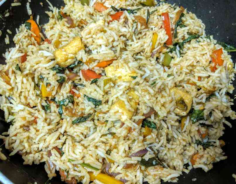 Thai Basil Fried Rice Recipe Step By Step Instructions 8
