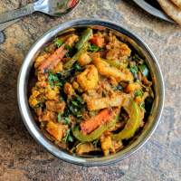 Veg Kadai Recipe | Kadai Vegetable Sabzi