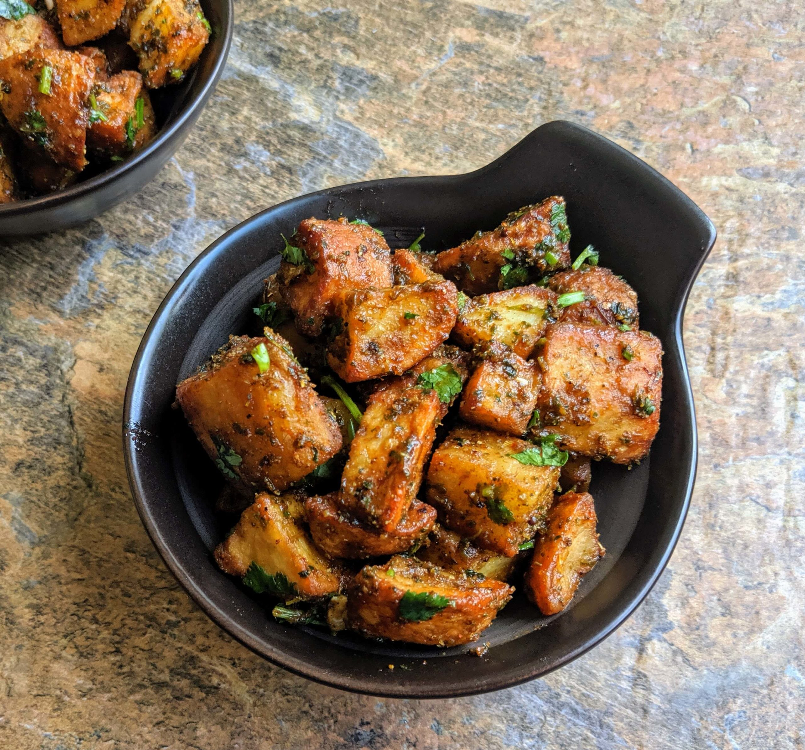 Aloo Chaat Recipe Step By Step Instructions