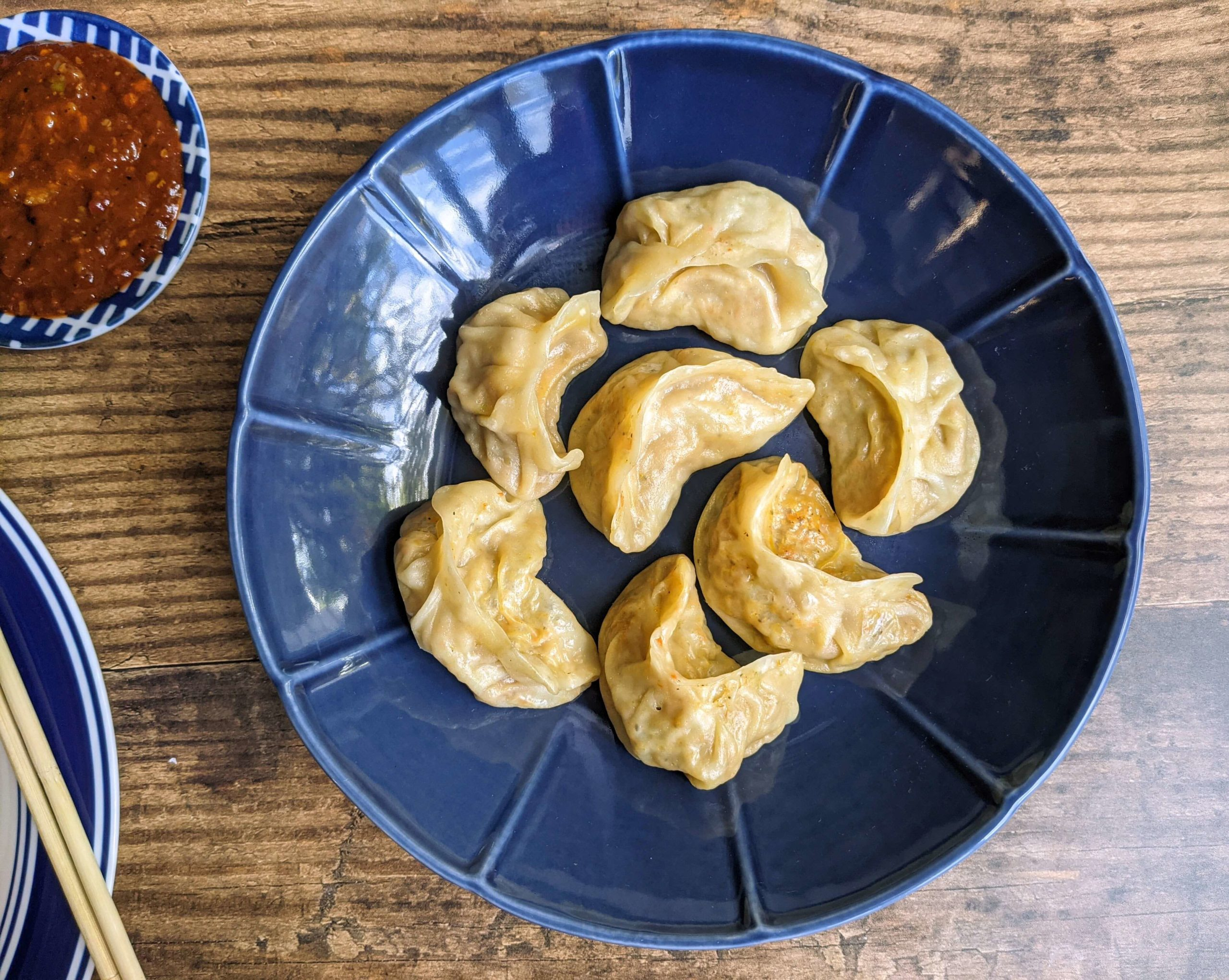 Veg Momos Recipe Step By Step Instructions
