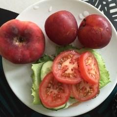 Mulla on tomaattia leivällä lähes aina, se vaan on lemppari!