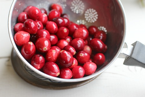 Fresh Cranberries for Compote