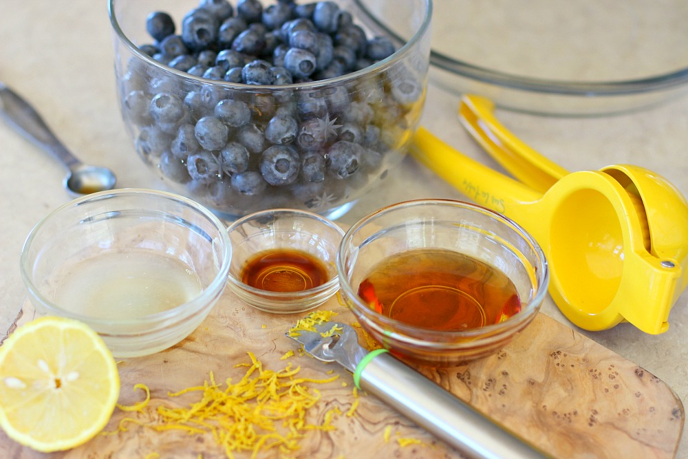 Blueberry Crumble Filling Ingredients