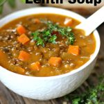 The Best Sweet Potato Lentil Soup