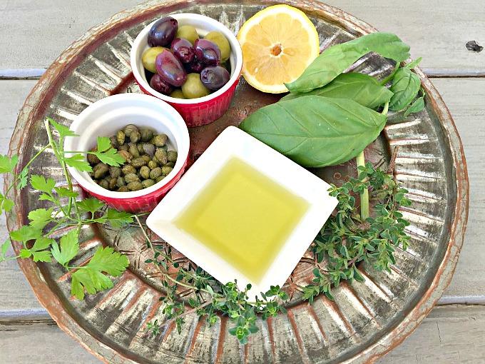 Olive Tapenade Ingredients