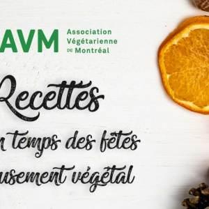 12 recettes pour un temps des fêtes délicieusement végétal