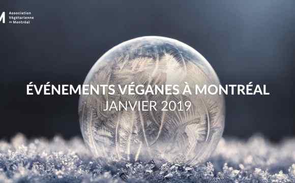 Événements véganes à Montréal en janvier