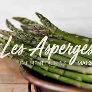 L'aliment du mois : les asperges
