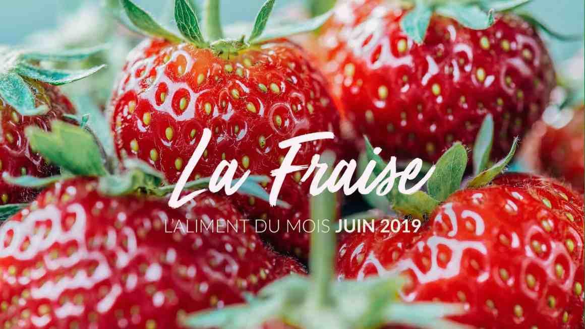 L'aliment du mois : la fraise