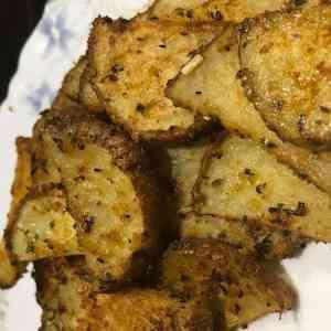 Pommes de terre assaisonnées au four