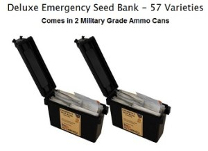 deluxe emergency seed bank