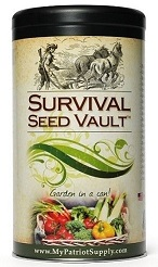 Survival Seed Vault My Patriot Supply