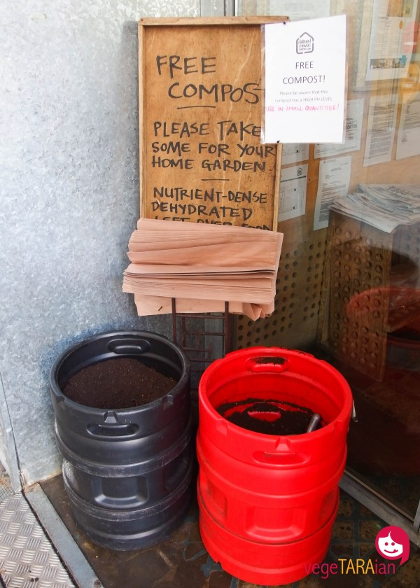 Free compost at Greenhouse, Perth