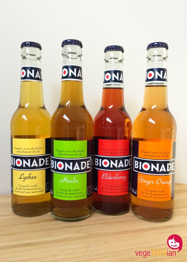 Bionade soft drinks