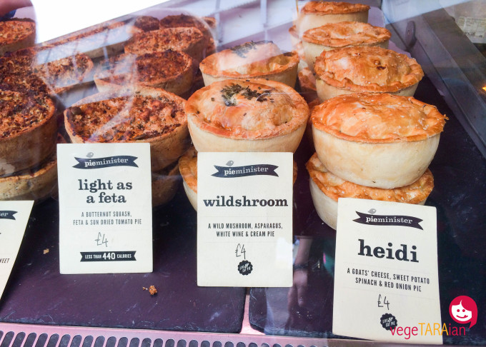Borough Market pies