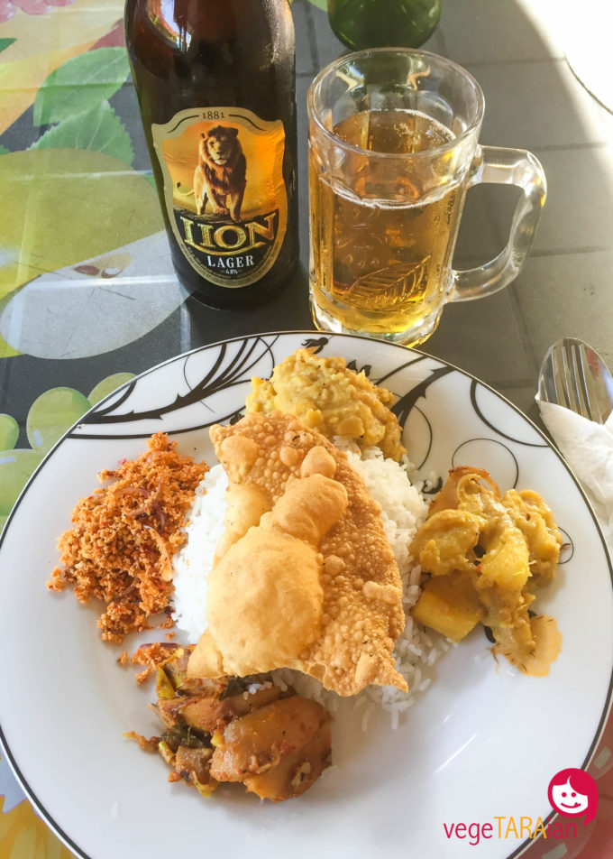 Negombo rice and curry