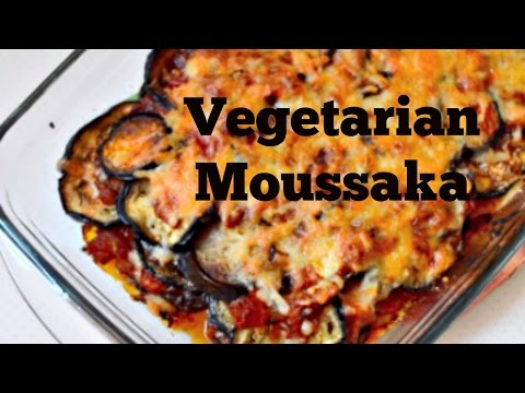 Vegetarian Moussaka Recipe // Twinklesabri (VIDEO)