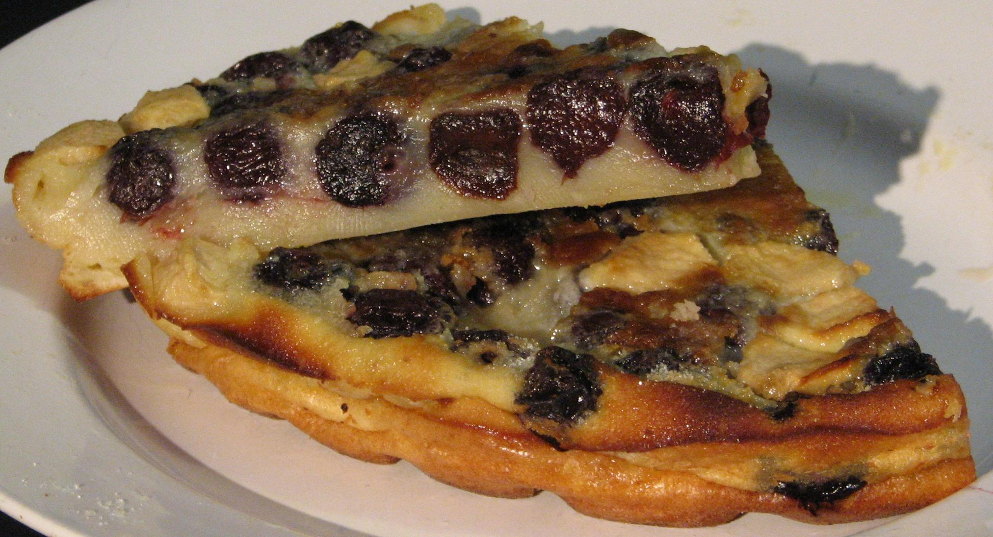 Cherry and Apple Clafoutis