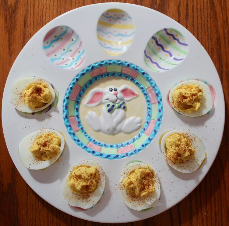 Simple, basic deviled eggs