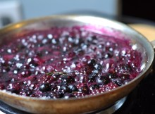 Rosemary-Blueberry Sauce