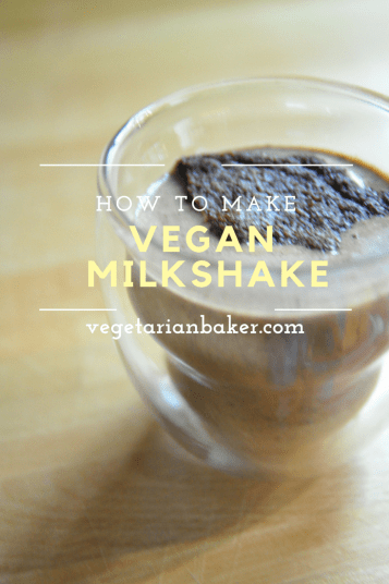 How To Make a Vegan Milkshake