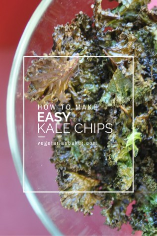 How To Make Easy KALE CHIPS!! (Garlic & Spicy)