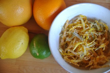 How To Make Candied Citrus Zest