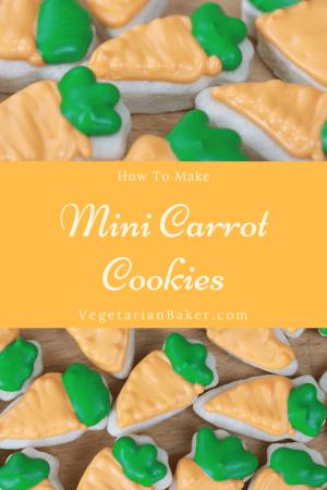 How To Make Mini Carrot Cookies | Easy Easter Recipe