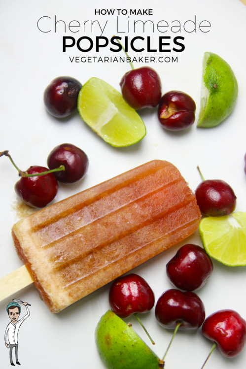 How To Make Cherry Limeade Popsicles | Only 4 Ingredients