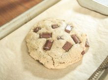 How To Make A Vegan Chocolate Chip Cookie For One