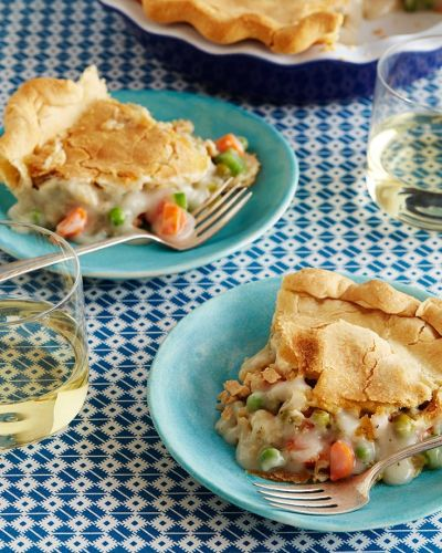 Sensational Easy Vegetable Pot Pie