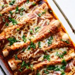 veggie-black-bean-enchiladas
