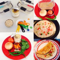 THREE INSTANT OATS DOSA/PANCAKES WITH VEGETABLES AND LENTILS FLOUR FOR BREAKFAST/LUNCH/DINNER