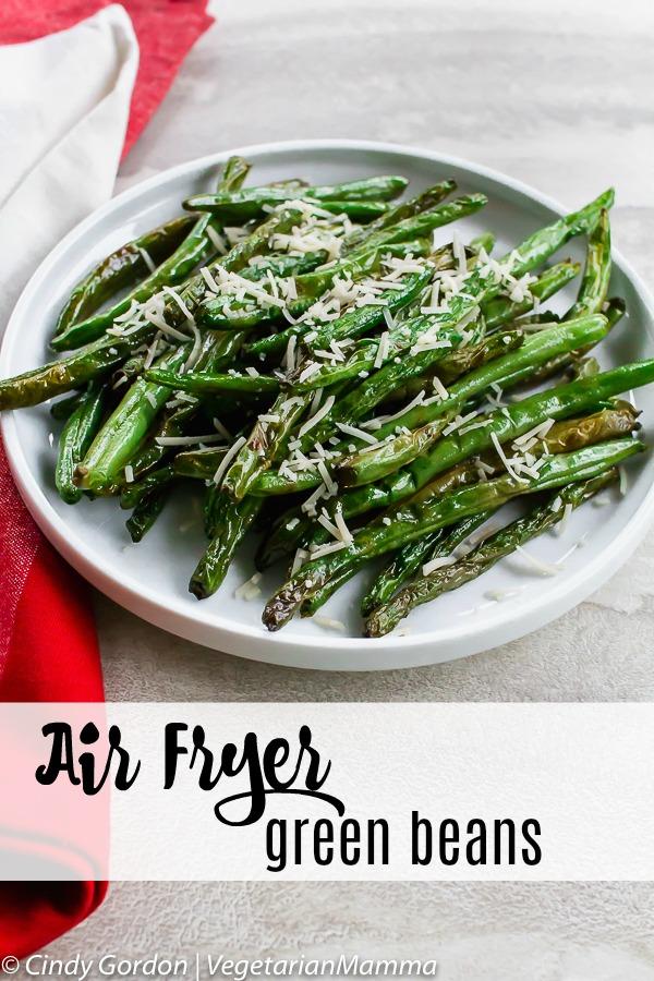 Air Fryer Green Beans pin