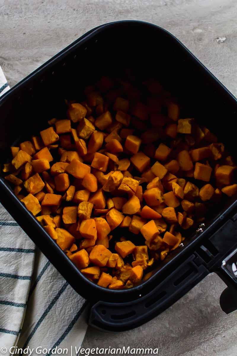 Air Fryer Sweet Potato hash