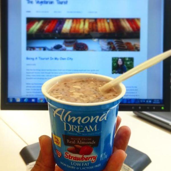 The Universe And DairyFree Yogurt! The Vegetarian Tourist