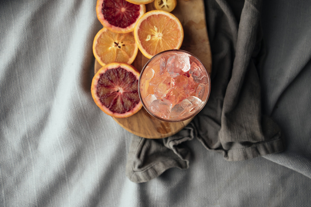 Gin & [Blood Orange] Juice