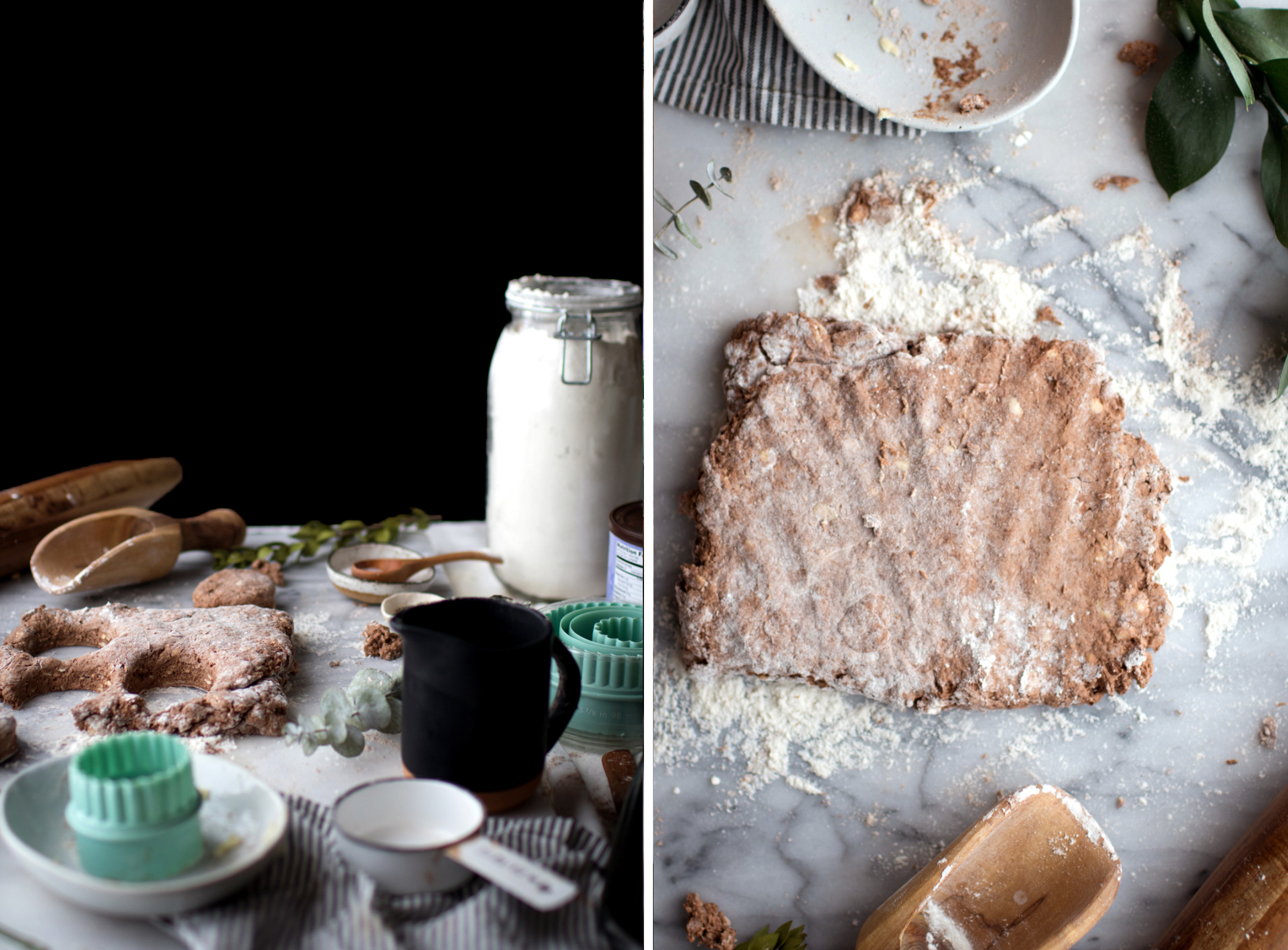 Cocoa Biscuits With Cinnamon Nut Ice Cream